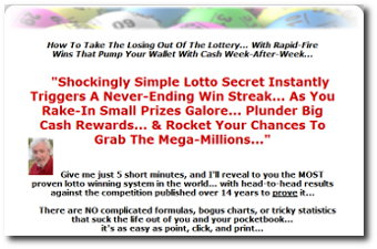 Win Lotto Systems website