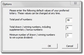 software defaults